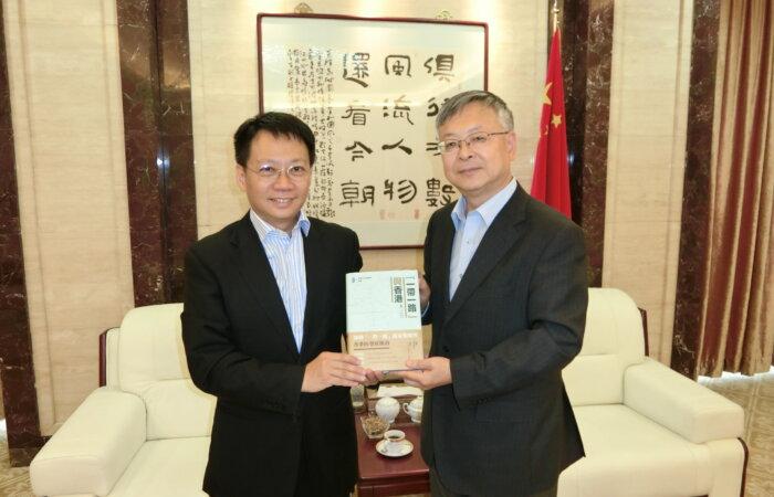 林博士拜會中國駐伊朗特命全權大使龐森先生