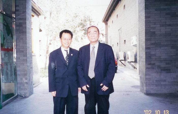 北京大學厲以寧,林毅夫,丁石孫教授