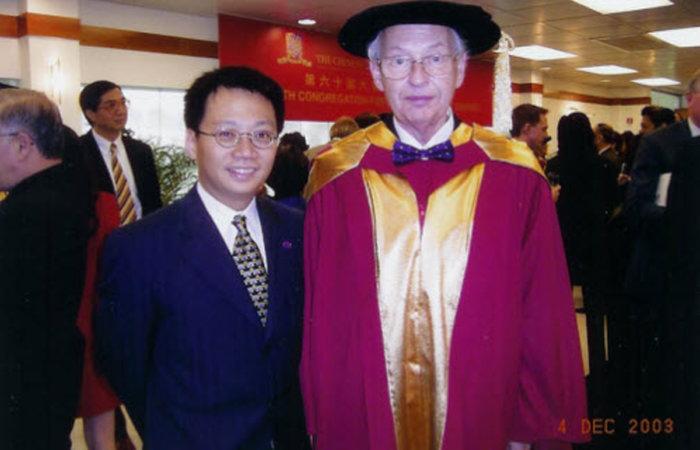 諾貝爾經濟學獎得主Reinhard Selten教授