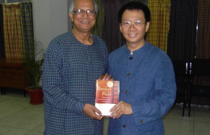 Dr.Lam Talks With Nobel Peace Prize Winner Dr. Yunus
