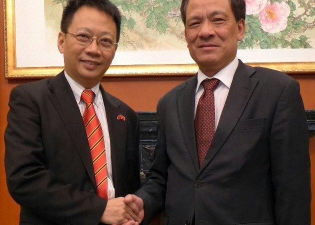 林博士於北京與東盟秘書長黎良朋先生會面