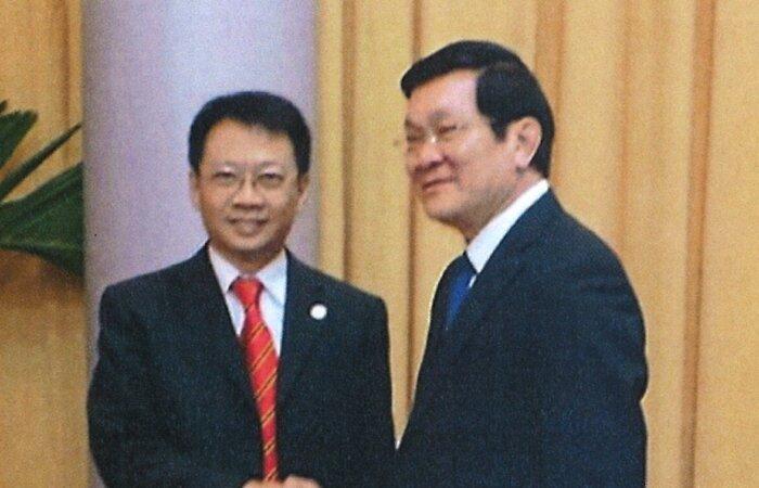 林博士與越南國家主席張晉創於河內會面