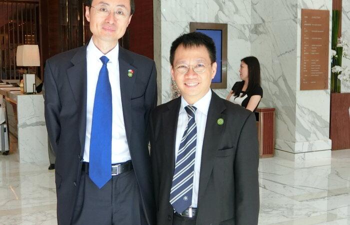 與中國駐巴基斯坦特命全權大使於北京會面