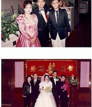 同班同學植珠智及黄國全婚禮