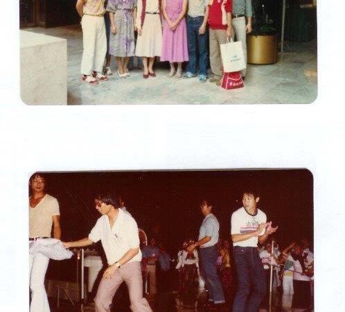 參加菲律賓文化節 1980
