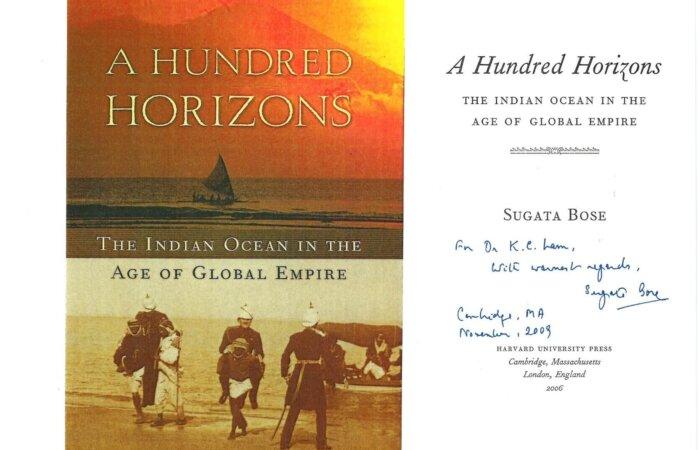 61 A Hundred Horizons – Sugata Bose