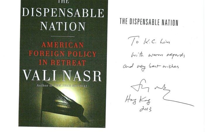 62 The Dispensable Nation – Vali Nasr