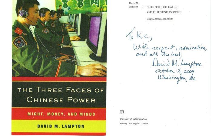 72 The Three Faces Of Chinese Power – David M. Lampton