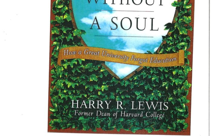 127 Excellence Without A Soul – Harry R.Lewis