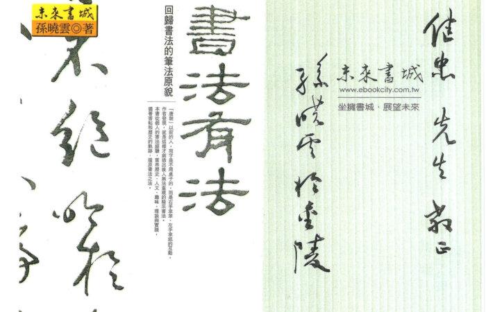 85 書法有法 – 孫曉雲