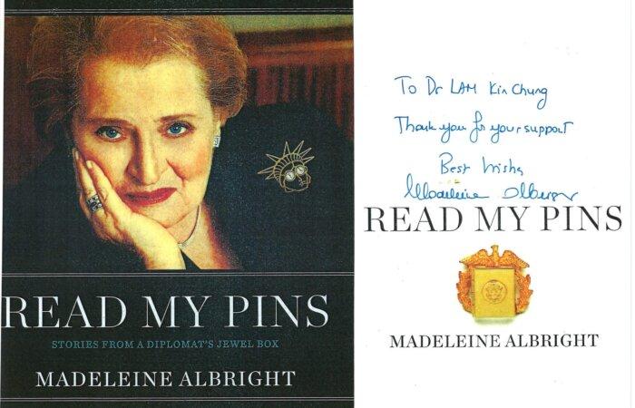 273 Read My Pins – Madeleine Albright
