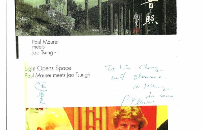 299 Light Opens Space – Paul Maurer